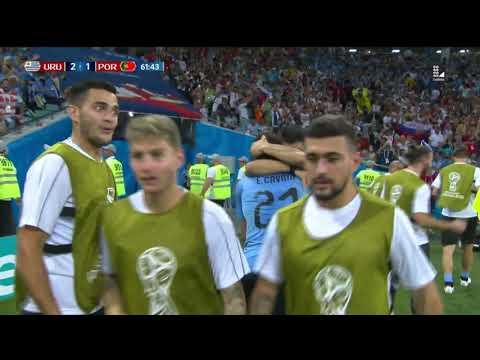 Gol de Cavani | Uruguay vs Portugal