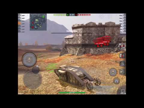 Катаю на MK I Heavy Tank wot blitz