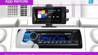 App Remote In-car smartphone operation with Sony Car Audio