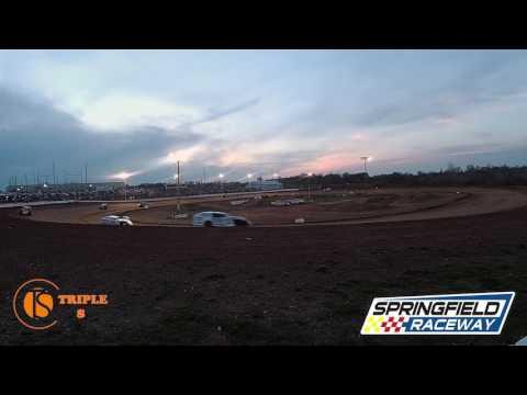 Heat Race B-Mod 1-2&3  Springfield Raceway 4-1-2017 Don Haase