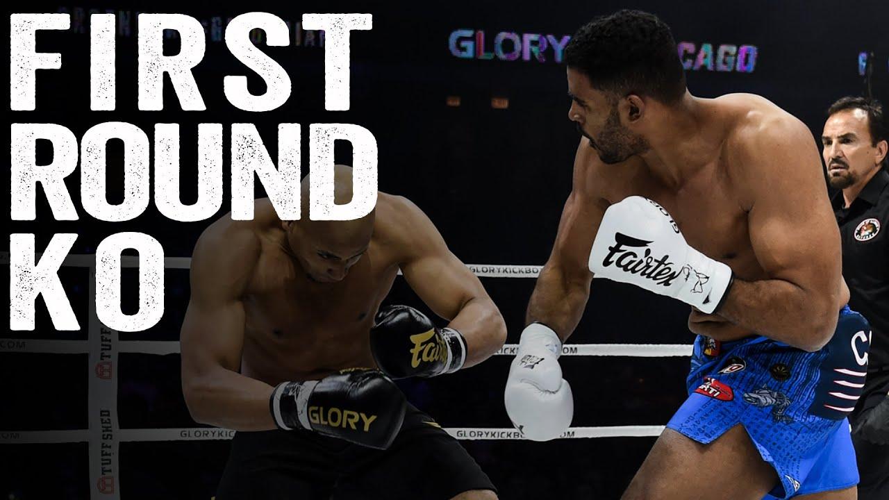 Benjamin Adegbuyi: 1st Round KO