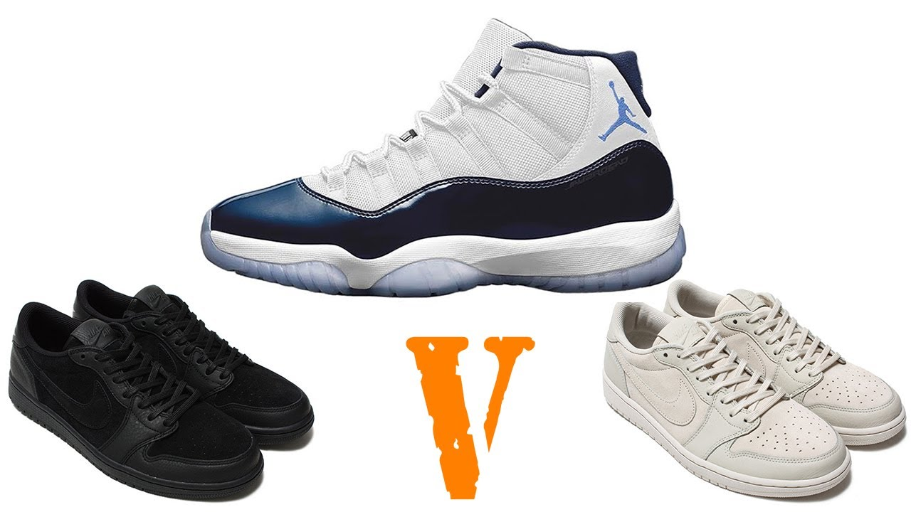 differently f4f87 4b4f9 Air Jordan 11 MIDNIGHT NAVY, Jordan 1 Low RELEASES, VLONE Air Force 1 High  and More