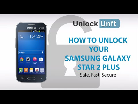 UNLOCK SAMSUNG GALAXY STAR 2 PLUS - HOW TO UNLOCK YOUR SAMSUNG GALAXY STAR 2 PLUS