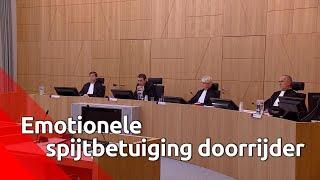 Doorrijder Breda wordt emotioneel als hij zijn excuses aanbiedt in de rechtbank