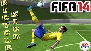 Bicycle / OverHead Kick (Tutorial) : FIFA 14 [PS3 / Xbox 360] ᴴᴰ