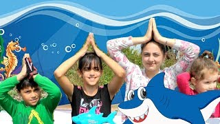 Baby Shark Dance | Sing and Dance | Learn Colors with Baby Shark From Guka Family Show
