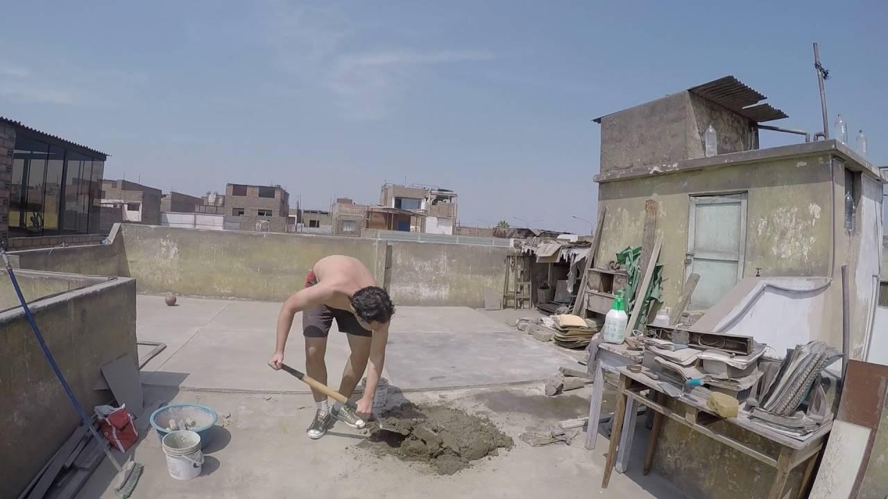 C mo hacer un piso de cemento youtube - Como hacer brillar el piso de cemento ...