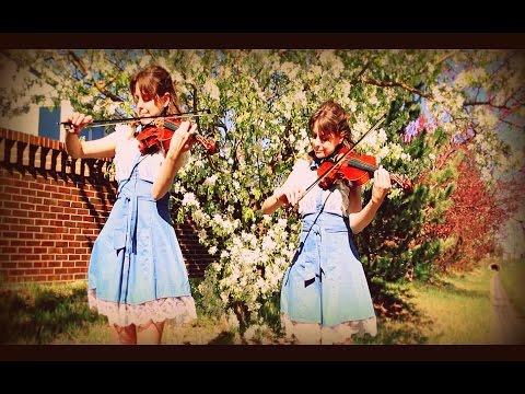 Brahms' Lullaby - Cradle Song - Violin Duet