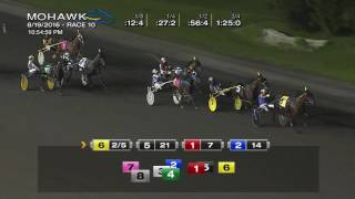 Mohawk, Sbred, Aug. 19, 2016 Race 10