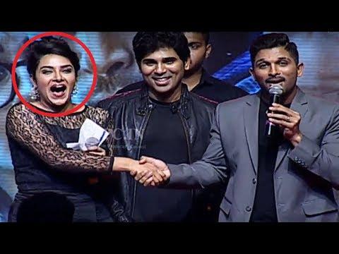 Allu Arjun Making Super Fun With Hari Teja...