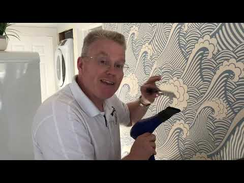 Peel and Stick Removable Wallpaper Installation (Part 2) - Spencer Colgan