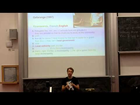 The Death of Language: Edinburgh Linguistics Society Soap Vox Lecture