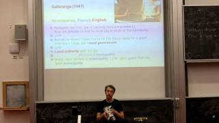 The Death of Language: Edinburgh Linguistics Society Soap Vox Lecture