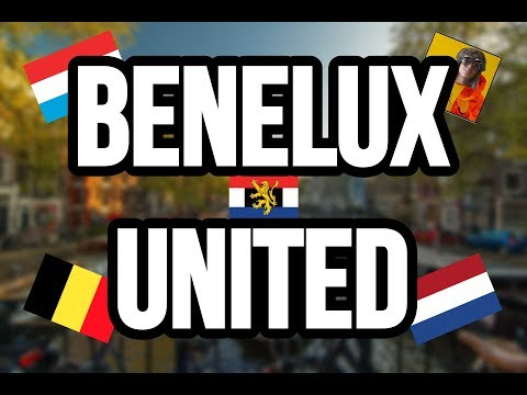 What if Benelux United Today? Belgium Netherlands Luxembourg