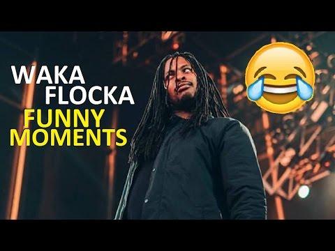 Waka Flocka FUNNY MOMENTS (BEST COMPILATION)