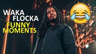 Waka Flocka FUNNY MOMENTS (BEST COMPILATION)