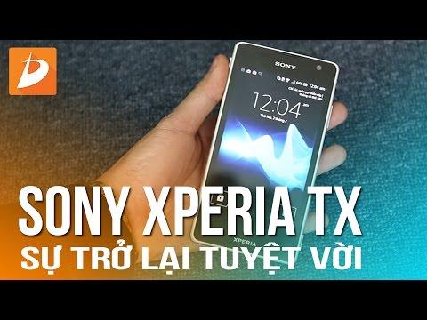 Sony Xperia TX : Sự trở lại tuyệt vời