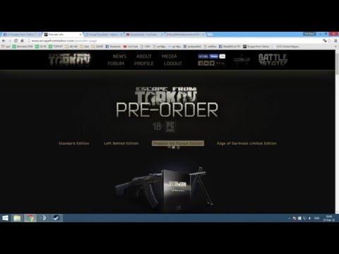 how to download escape from tarkov after pre ordering