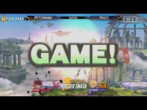 MHM:4-18 [Wii U] - [L] FS | Darkshad (Ryu) vs Percy [L] (Cloud) - Grand Finals [Reset]