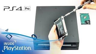 Tutorial: Festplatte der PS4 Pro wechseln