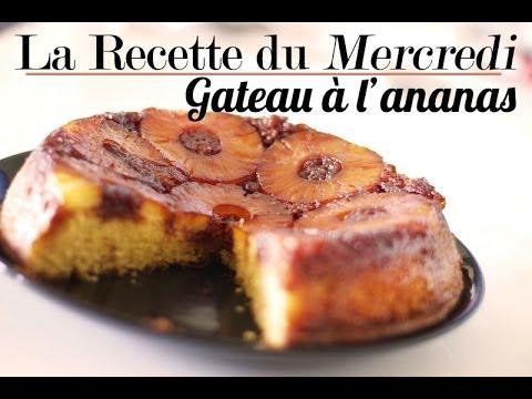 recette-gâteau-à-l'ananas-facile