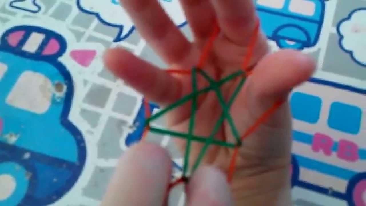 Avacheung611 星星 2 製作 橡根 橡皮圈 - YouTube