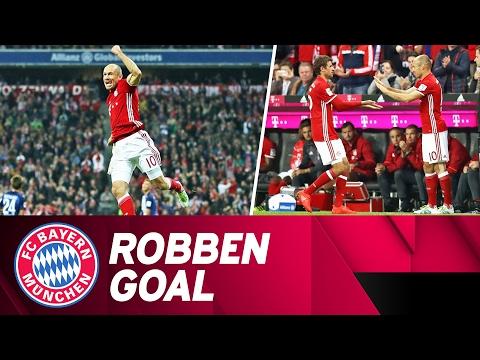 Arjen Robben's Comeback Goal Against Hertha Berlin   2016/17 Season