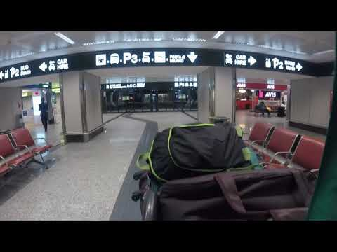 Arrived At Milan Airport Train To Milan Centrale Go Pro