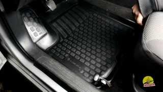 Обзор ковриков в салон Chevrolet Aveo '06-11 - Полиуретановые коврики в салон Lada Locker