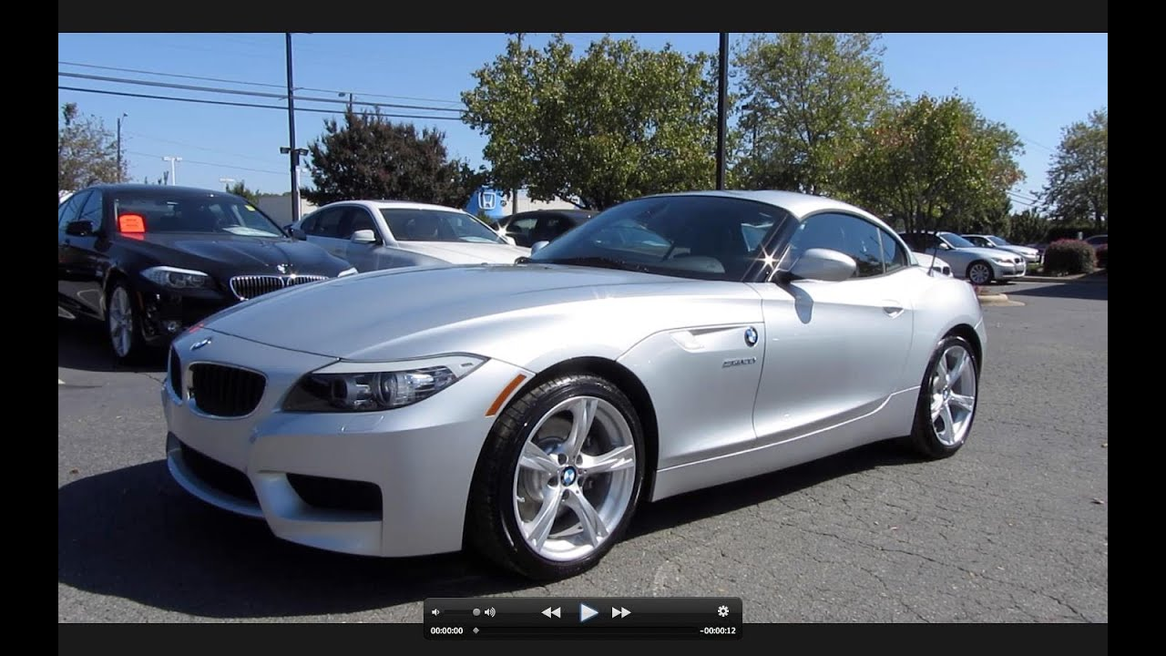 2012 Bmw Z4 S Drive 28i 2 0t Start Up Exhaust And In Depth Tour Youtube