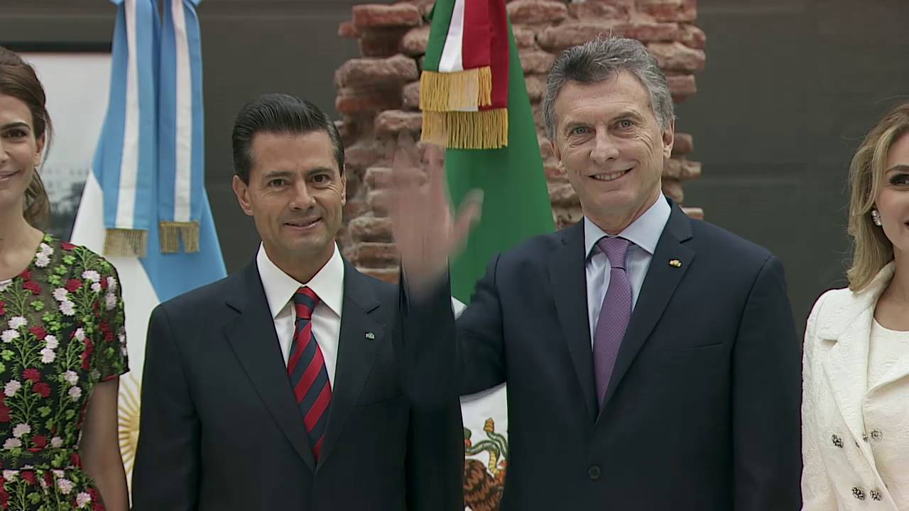 Visita Oficial Del Presidente De México Enrique Peña Nieto Youtube