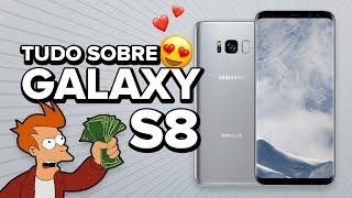 Samsung GALAXY S8 - Tudo sobre! Joguei meu iPhone no LIXO!!
