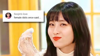 female idols once said...