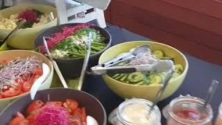 Groenten buffet bij BBQ Traiteur Lieben (reclame)