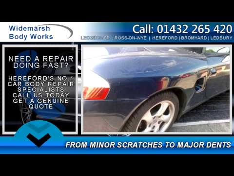 Car Body Repairs Hereford & Accident Repairs Herefordshire