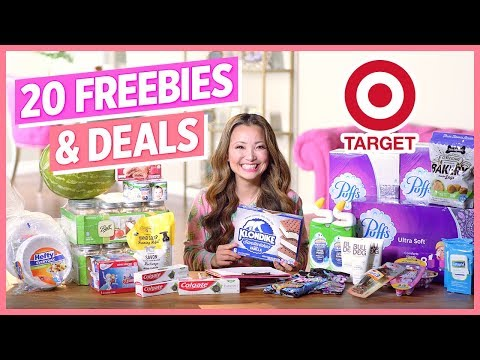 ★ 20 FREEBIES & Deals – Target Couponing Haul (Week 6/23-6/29)