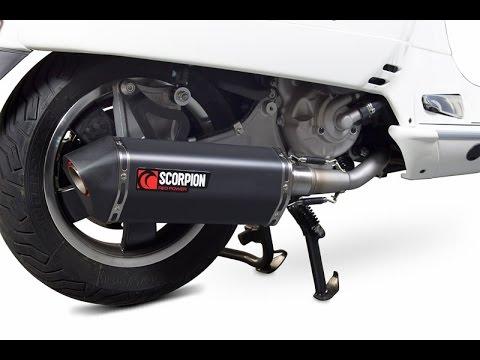 Scorpion Serket Vespa GTS exhaust | REVIEW - ScooterLab