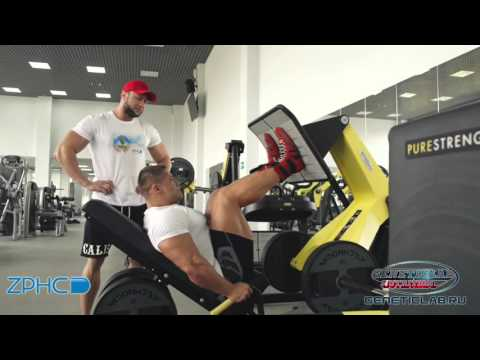 Денис Бажанов и Павел Боев   - тренировка Ног