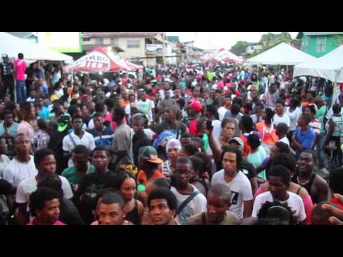One Man - Saya Street Party (suriname) 27/04/2014