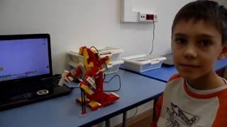 Экзоскелет Lego