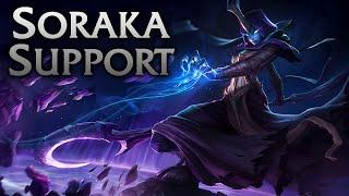 League of Legends   Reaper Soraka Support - Full Game Commentary