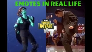 Fortnite - New Twist Emote dans 'Real Life' (Saison 5)