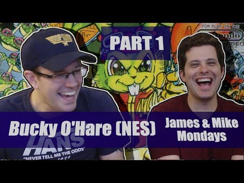 Bucky O'Hare (NES) Part 1 - James & Mike Mondays
