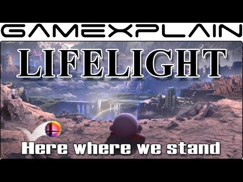 Super Smash Bros. Ultimate - Lifelight Lyrics w/ Captions (World of Light Theme) thumbnail