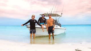 Yellow Fin Tuna & Tiger Sharks DEEP SEA FISHING With The Boys (Part 1) - Ep 203