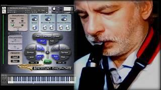 AeroSound Saxophones Kontakt sample library for Roland Aerophone AE-10