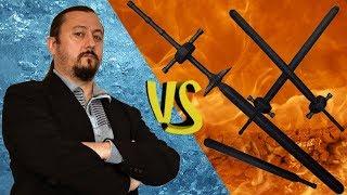 Краш-тест 💀 Я vs Тямбары 🔪 Короткий меч 🔧 Полуторный 🔨 Цвайхандер