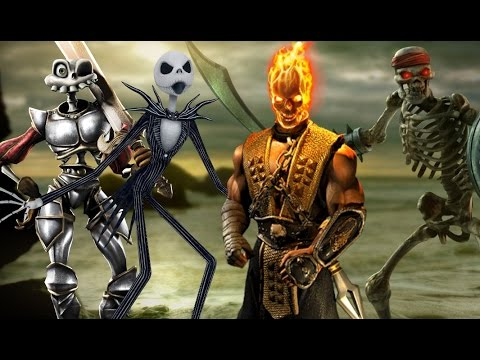 Top ten skeleton characters spooky scary youtube - Scary skeleton games ...