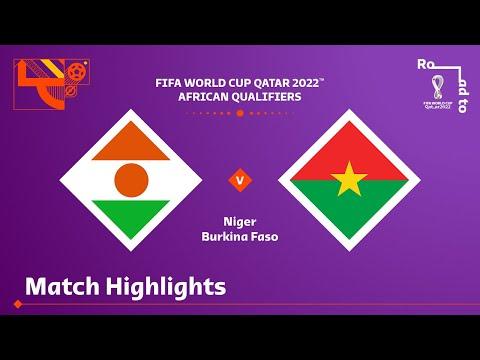 Niger Burkina Faso Goals And Highlights