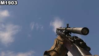 Call Of Duty WW2 ALL WEAPONS SOUNDS & RELOAD ANIMATIONS 1440P60FPS MAX DETAILS